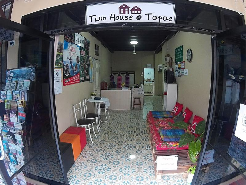 HOSTEL - Twin House at Tapae(big&o house)