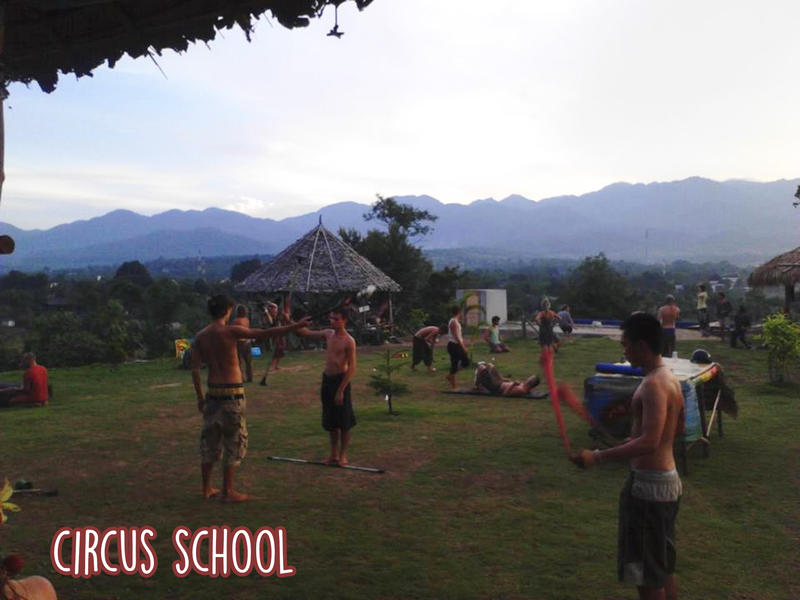 The Famous Pai Circus Hostel