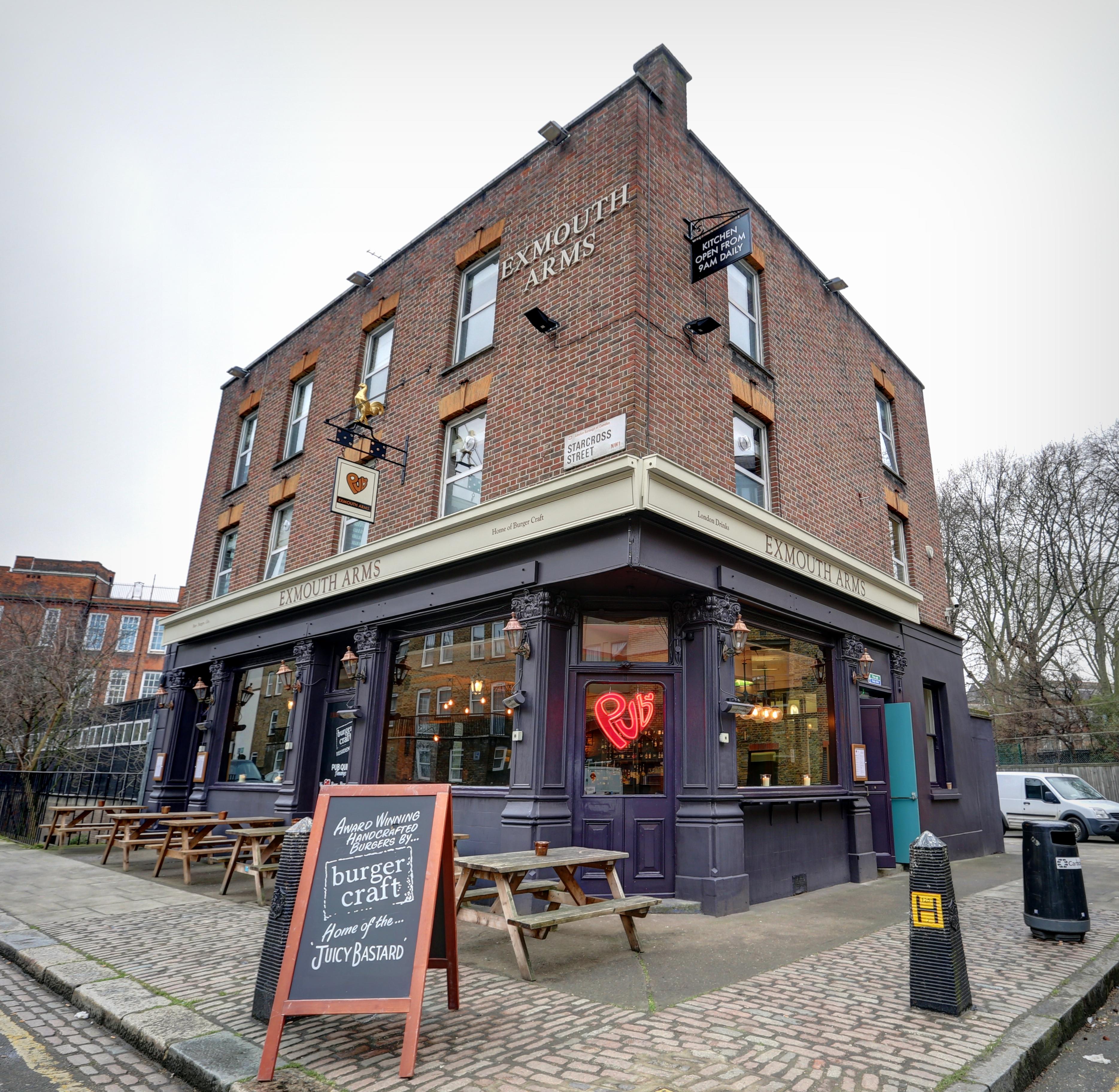 HOSTEL - PubLove @ The Exmouth Arms, Euston