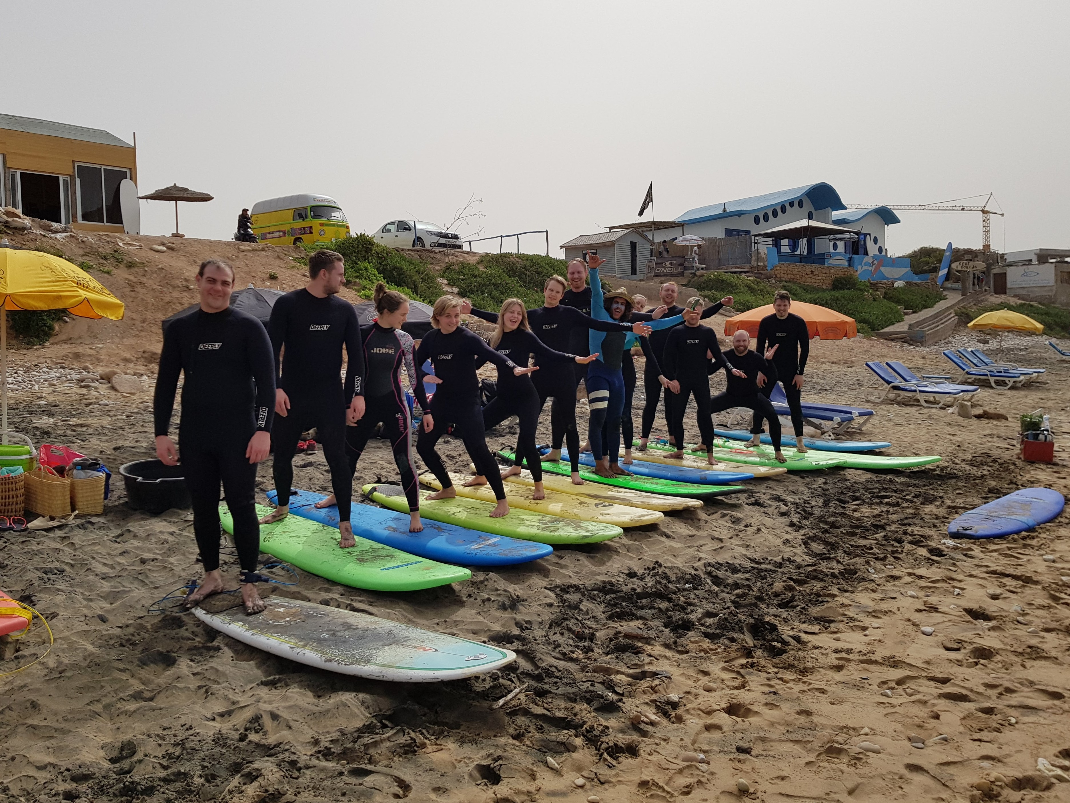 Surf & Travel Camp
