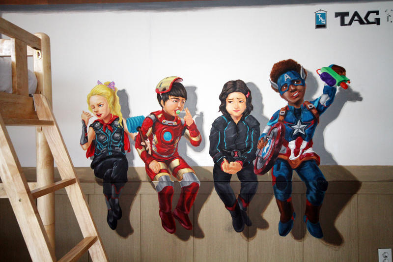 Trick Art Hostel In Hongdae