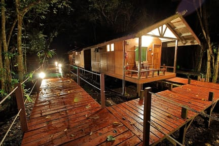 Bilder av Nature Lodge Kinabatangan