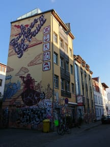 Fotky Backpackers St. Pauli