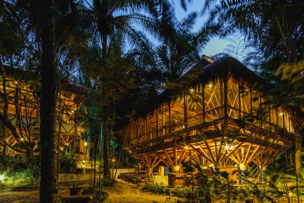 Foto's van Universo Pol Bamboo Hostel
