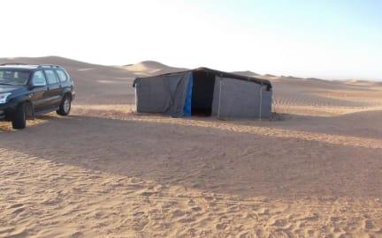 Zdjęcia nagrodzone Bivouac Draa - Nuit dans le désert