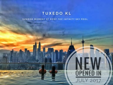 Tuxedo KL -No.1 Rooftop Pool w Skyscraper Views照片