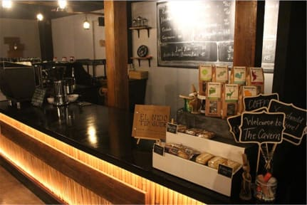 Foto di The Cavern Pod Hostel & Specialty Cafe