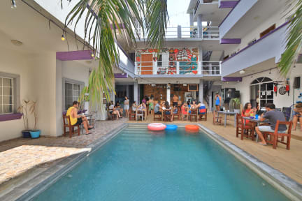 Photos of Balu Hostel. Isla Mujeres