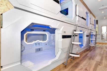 Foton av The SpaceQ Capsule Hotel