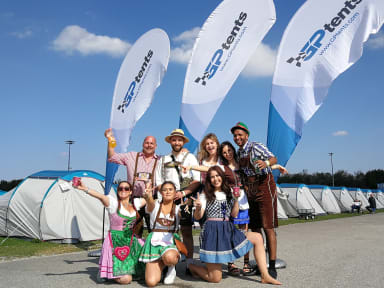 Foto's van GPtents- Tent and Breakfast Oktoberfest Munich