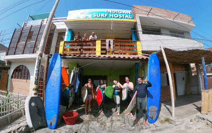 Fotos von Indigan Surf Hostal