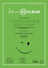 Foto di 7 Wonders Hostel @ Upper Dickson (SG Clean)