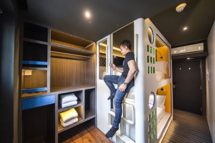 Cube - Family Boutique Capsule Hotel @ Chinatownの写真