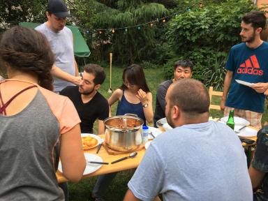 Zdjęcia nagrodzone Budapest Garden Hostel