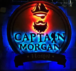 Captain Morgan Hostel Lake Coatepeque照片