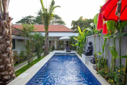 Bali Komang Guest House Sanur tesisinden Fotoğraflar