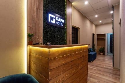 Capsule hostel CAPS Hotelの写真