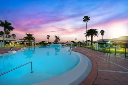 Zdjęcia nagrodzone Canary Sunset Maspalomas Lago