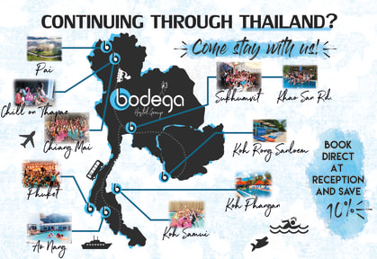 Foto di Bodega Phuket Party Hostel
