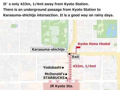 Kuvia paikasta: Kyoto Hana Hostel