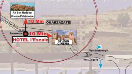 L' Escale de Ouarzazate tesisinden Fotoğraflar