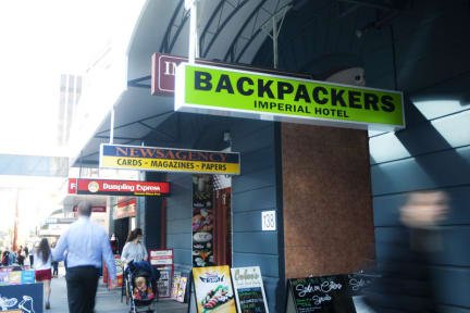 Backpackers Imperial Hotelの写真