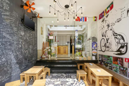 New Saigon Hostel @ 270 Bui Vien Strの写真
