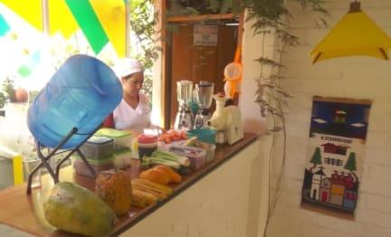 Plantas y Blanco Hostel Banos Ecuadorの写真