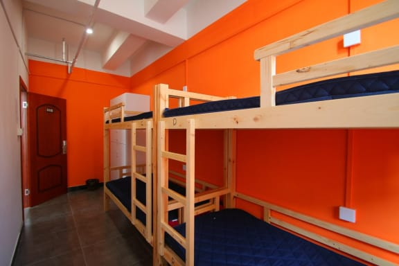 Kamar penginapan di Shanghai Lanshan Youth Hostel