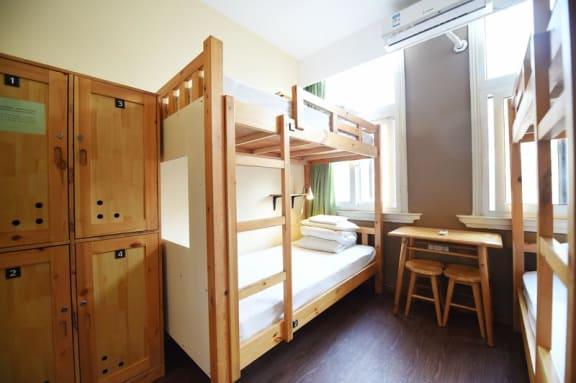 Kamar penginapan di Mingtown Nanjing Road Youth Hostel