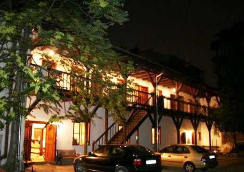 Hostel Mostel Sofia at night