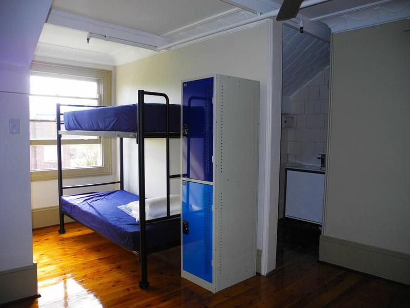 Dorm at Backpackers HQ in Sydney