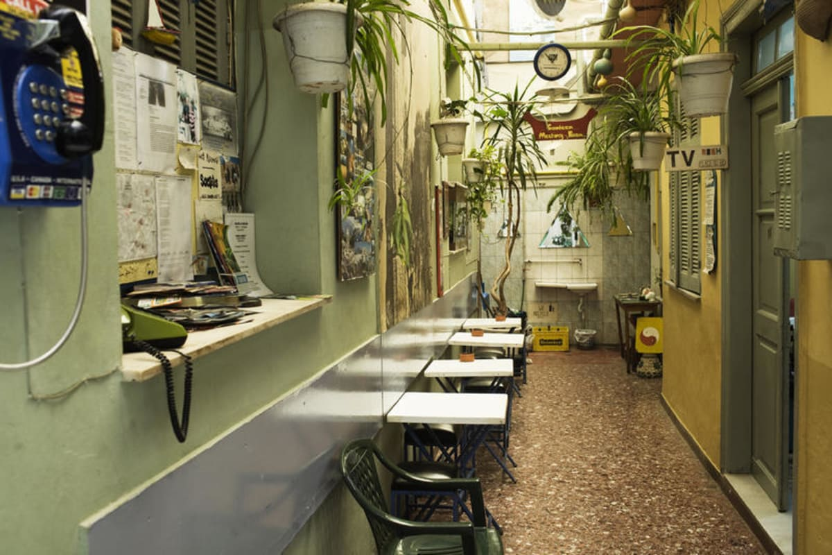 Pagration Youth Hostel, Athens, Greece