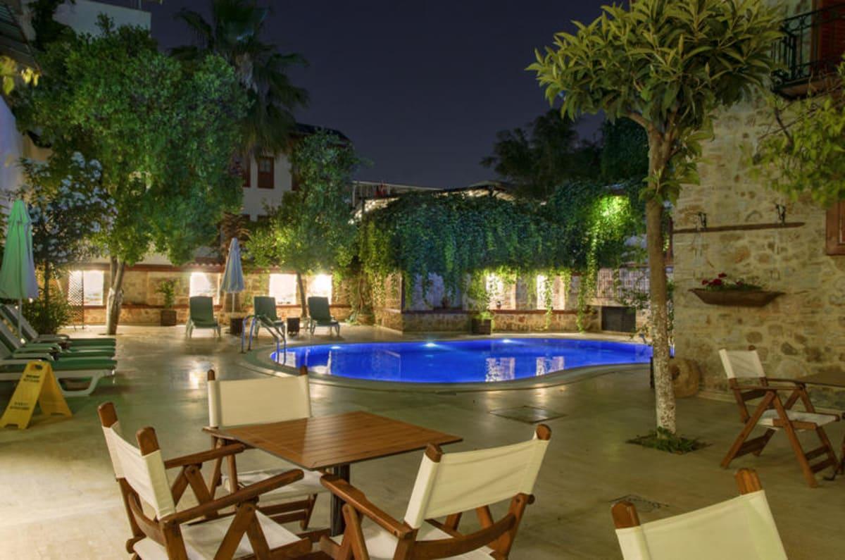 White Garden Pansion in Antalya, Turkey, Turkey hostel