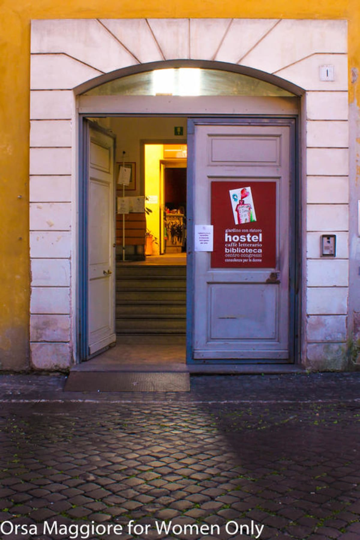 Orsa Maggiore for Women Only, Rome, Italy