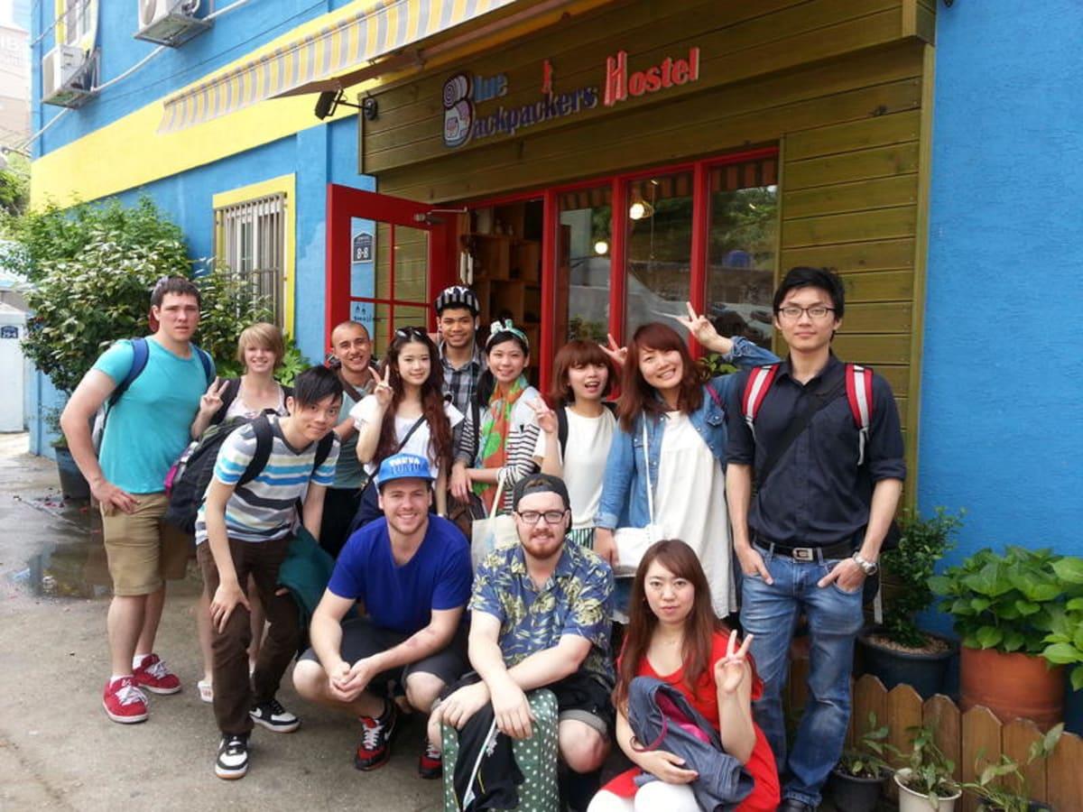 Blue Backpackers Hostel, Busan, South Korea