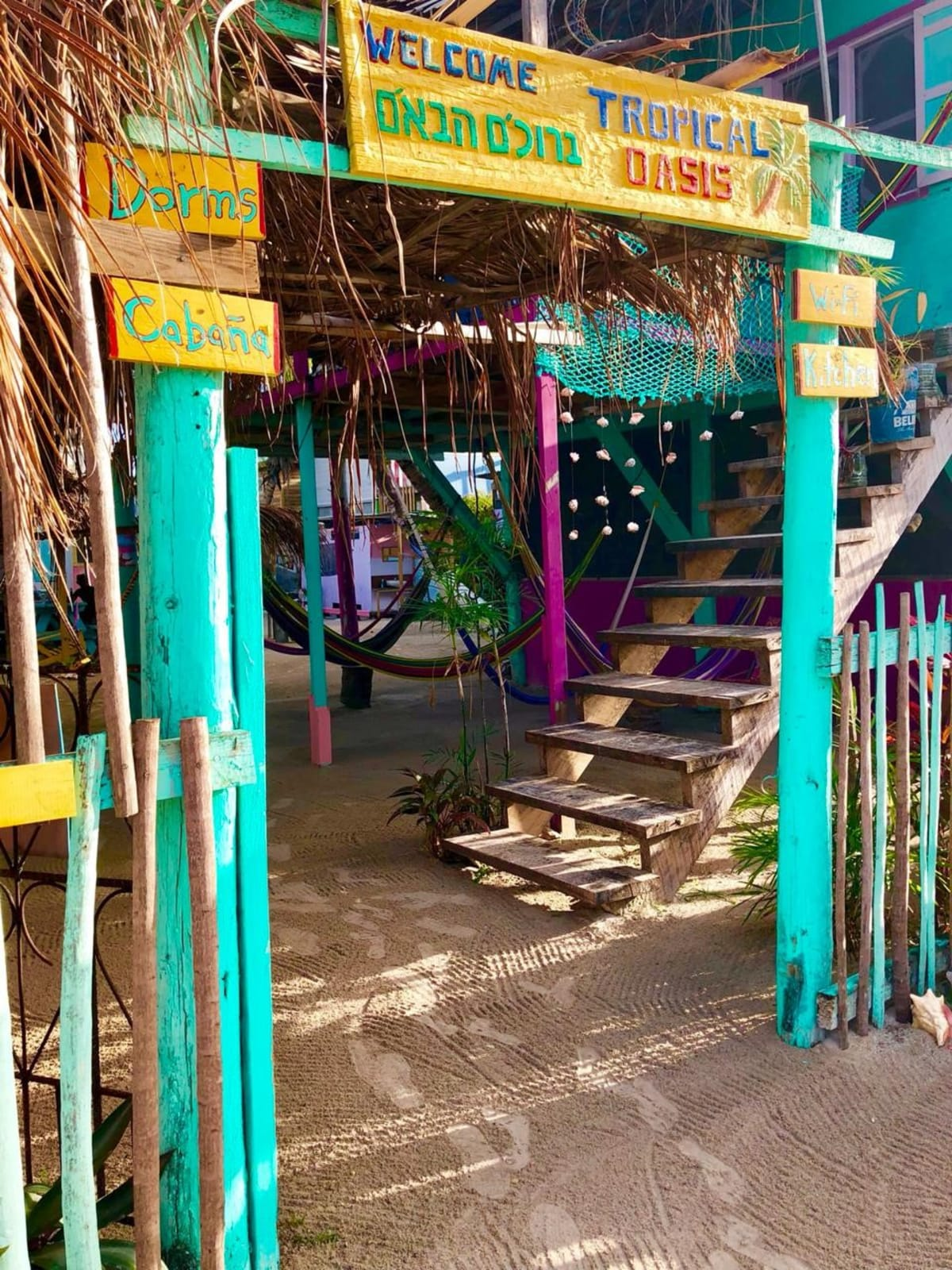 Tropical Oasis, Caye Caulker, Belize