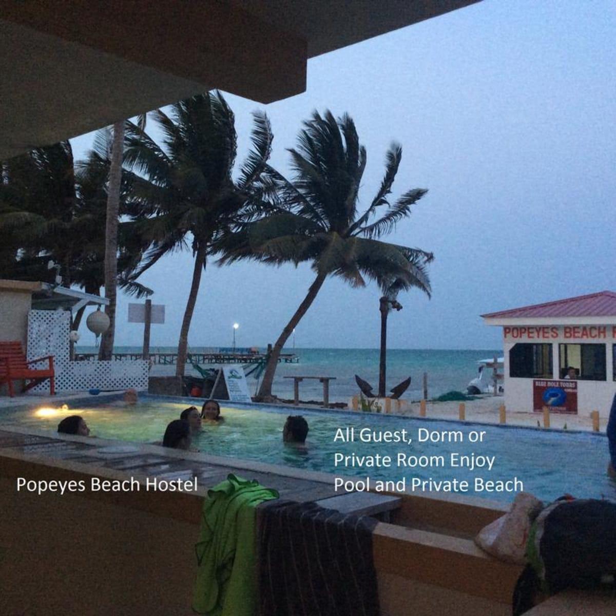 The Club Caye Caulker Beach Hostel, Caye Caulker, Belize