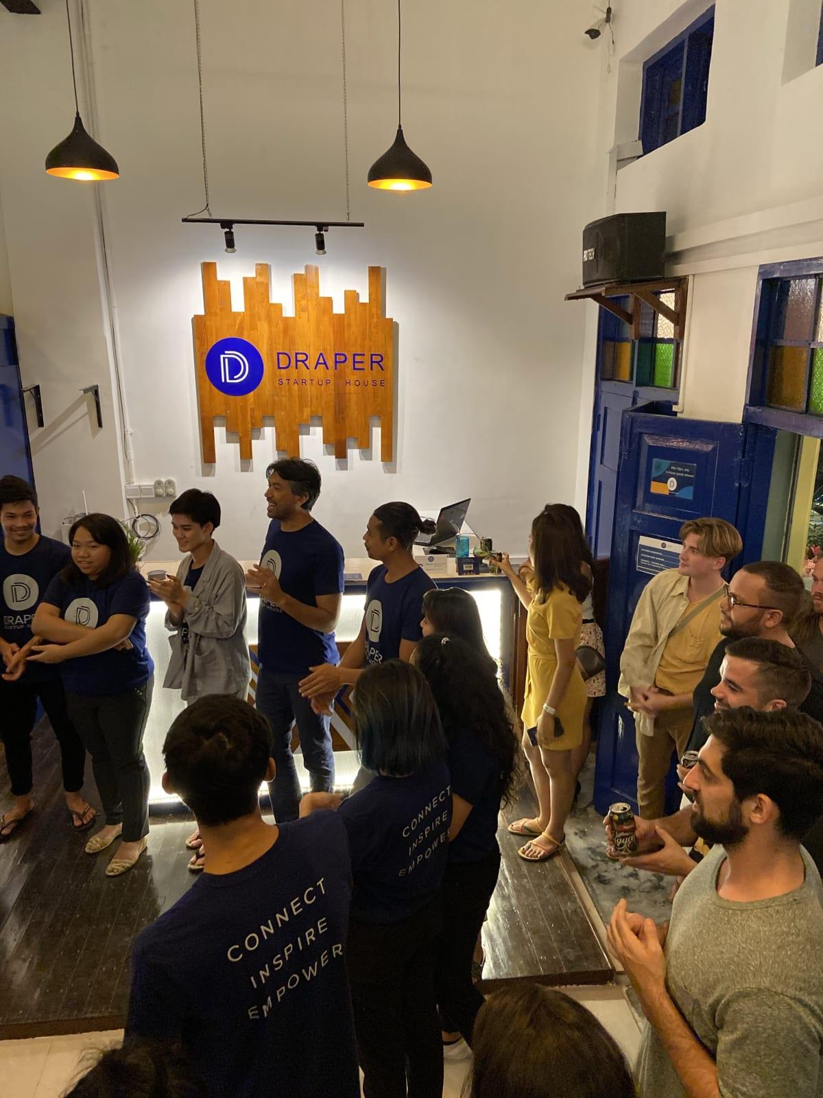 Draper Startup House for Entrepreneurs, Yangon, Myanmar
