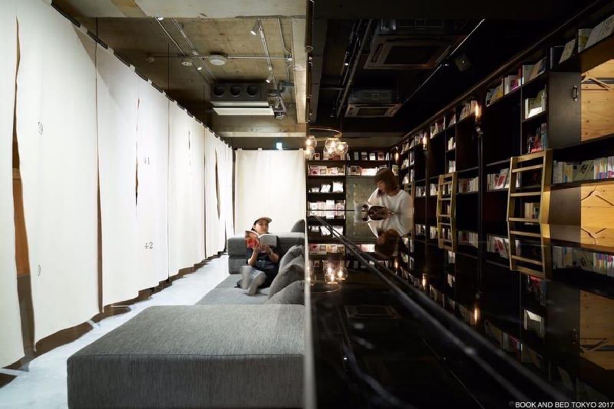 Book And Bed Tokyo Asakusa in Tokyo, Japan, Japan