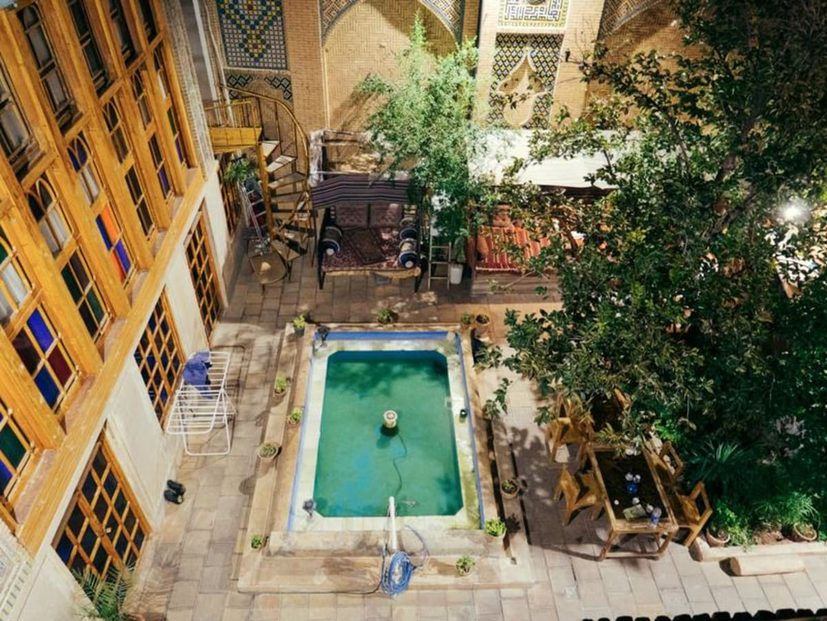 Taha Boutique Hotel, Shiraz, Iran hostel