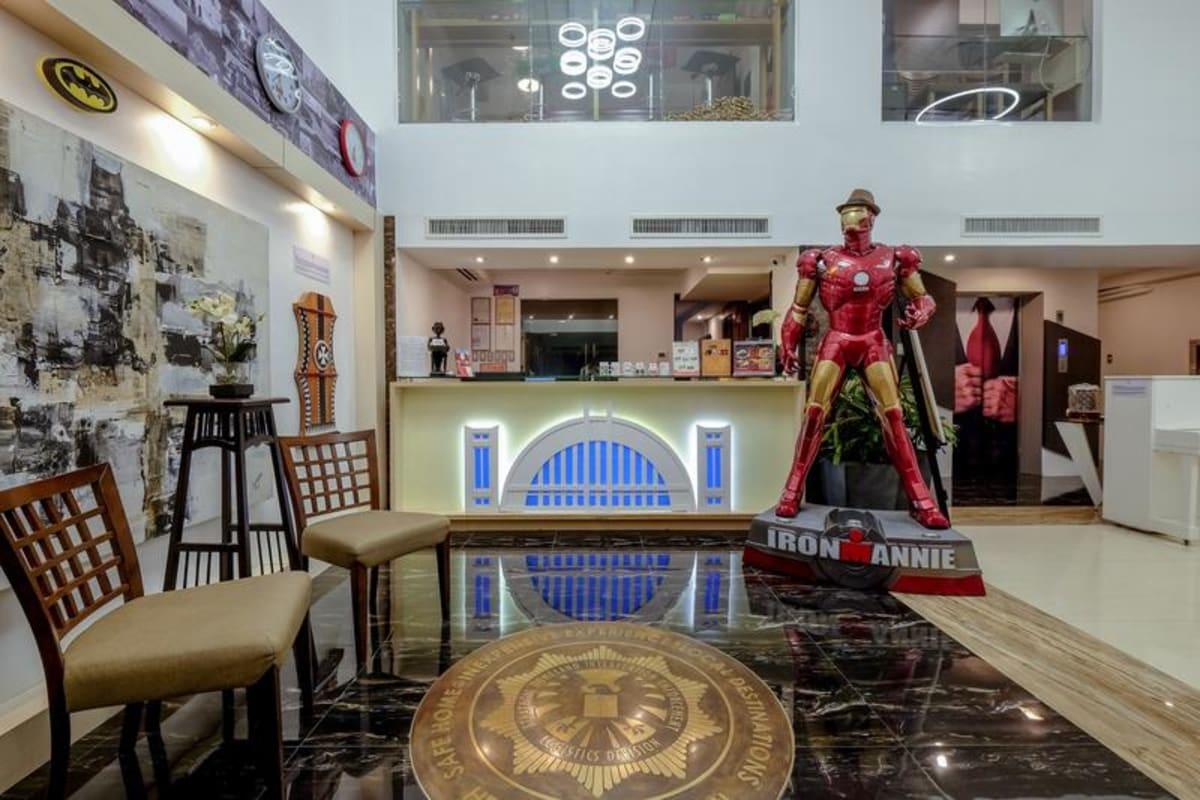 Heroes Hotel Manila, Manila, Philippines