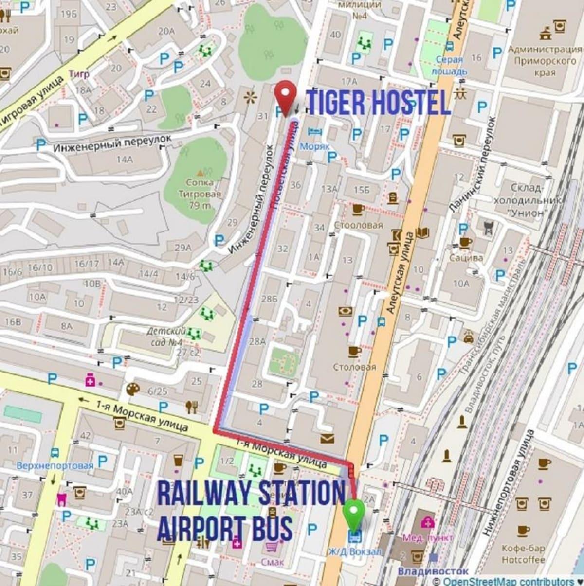 Tiger Hostel, Vladivostok, Russia hostel
