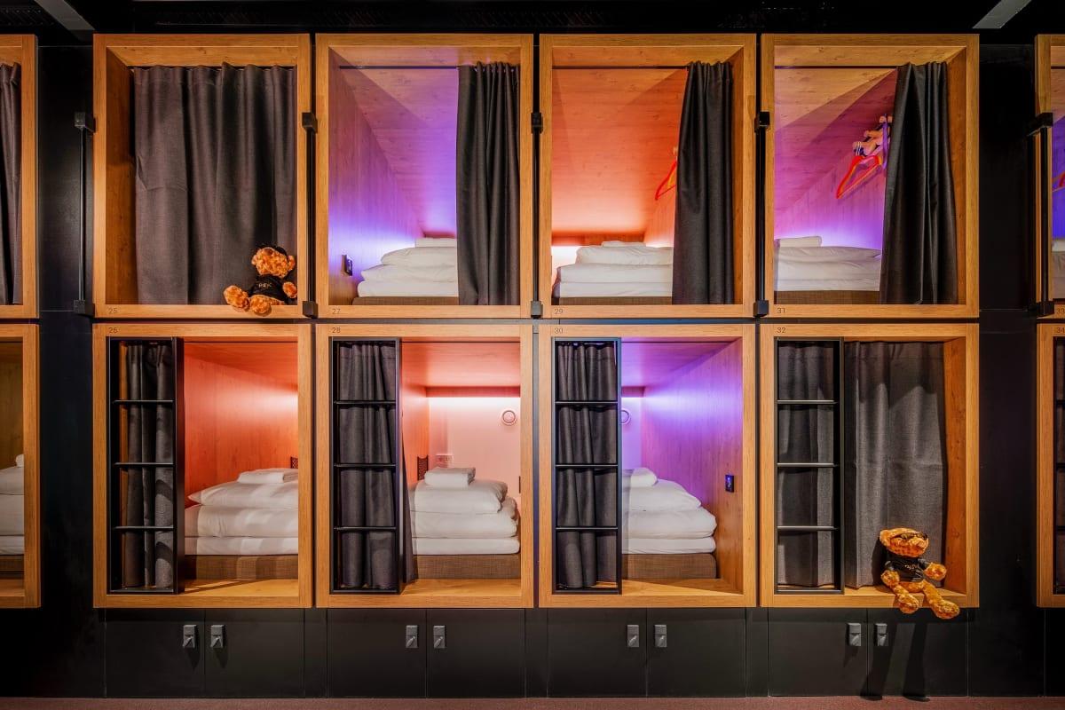 BUNK Hotel Utrecht, Utrecht, Netherlands hostel