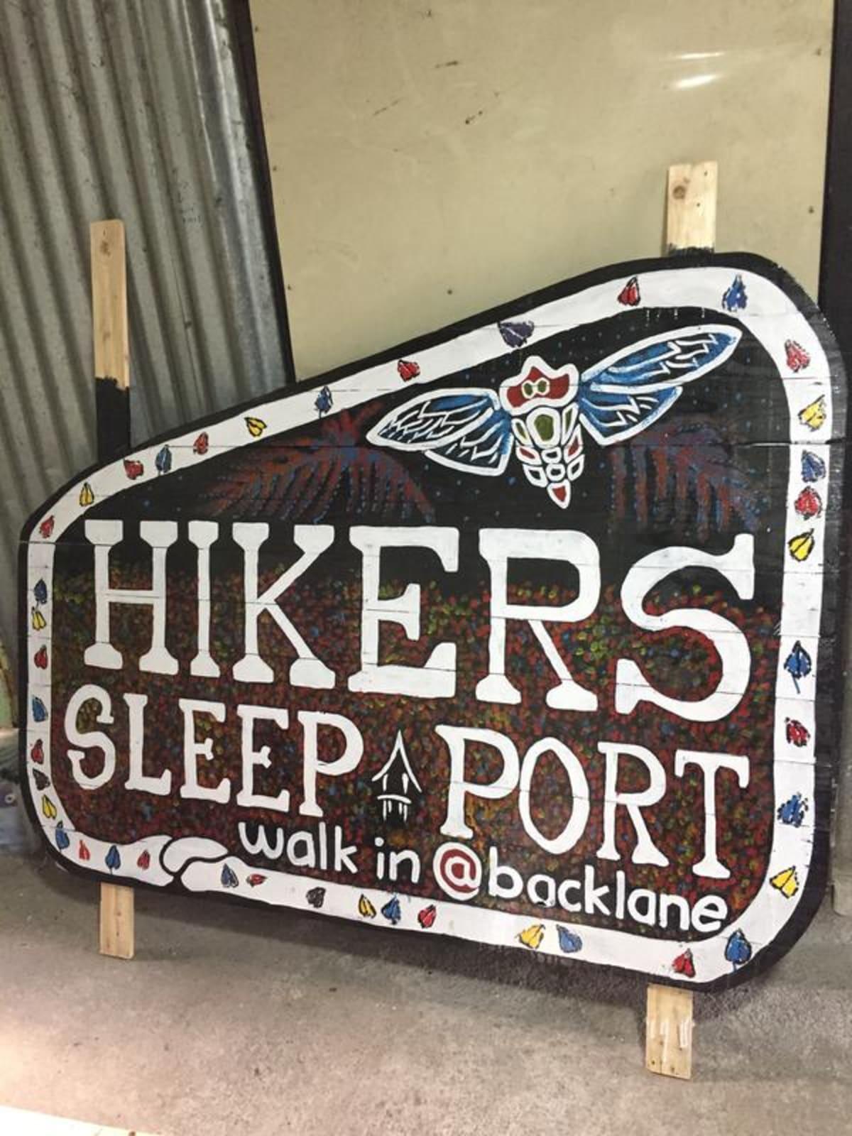 Hikers Sleep Port, Cameron Highlands, Malaysia