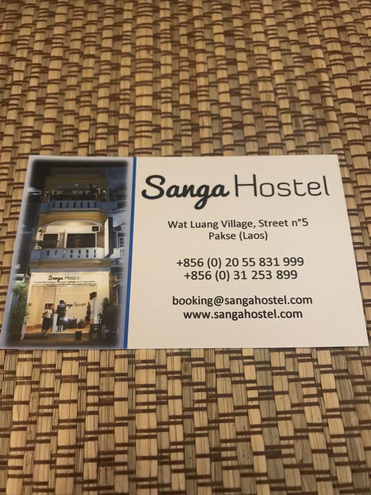 Sanga Hostel, Pakse, Laos