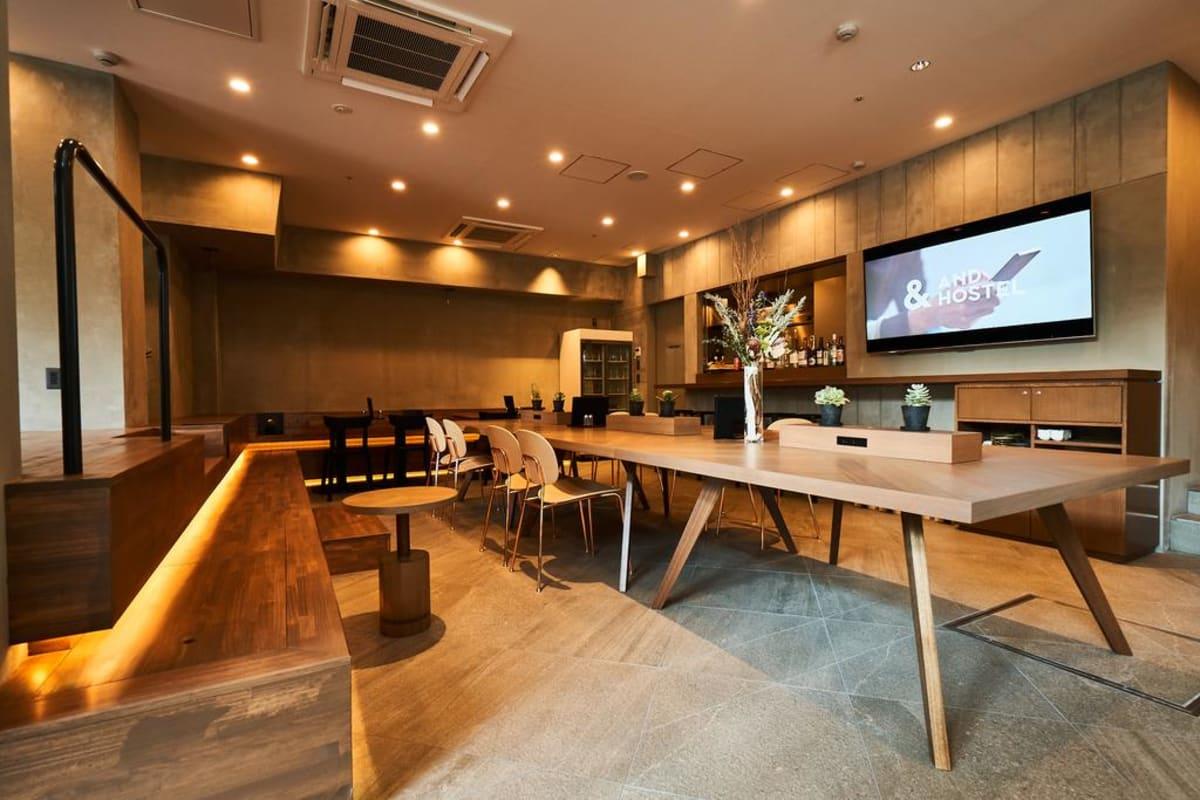 &And Hostel Hommachi-East in Osaka, Japan, Japan