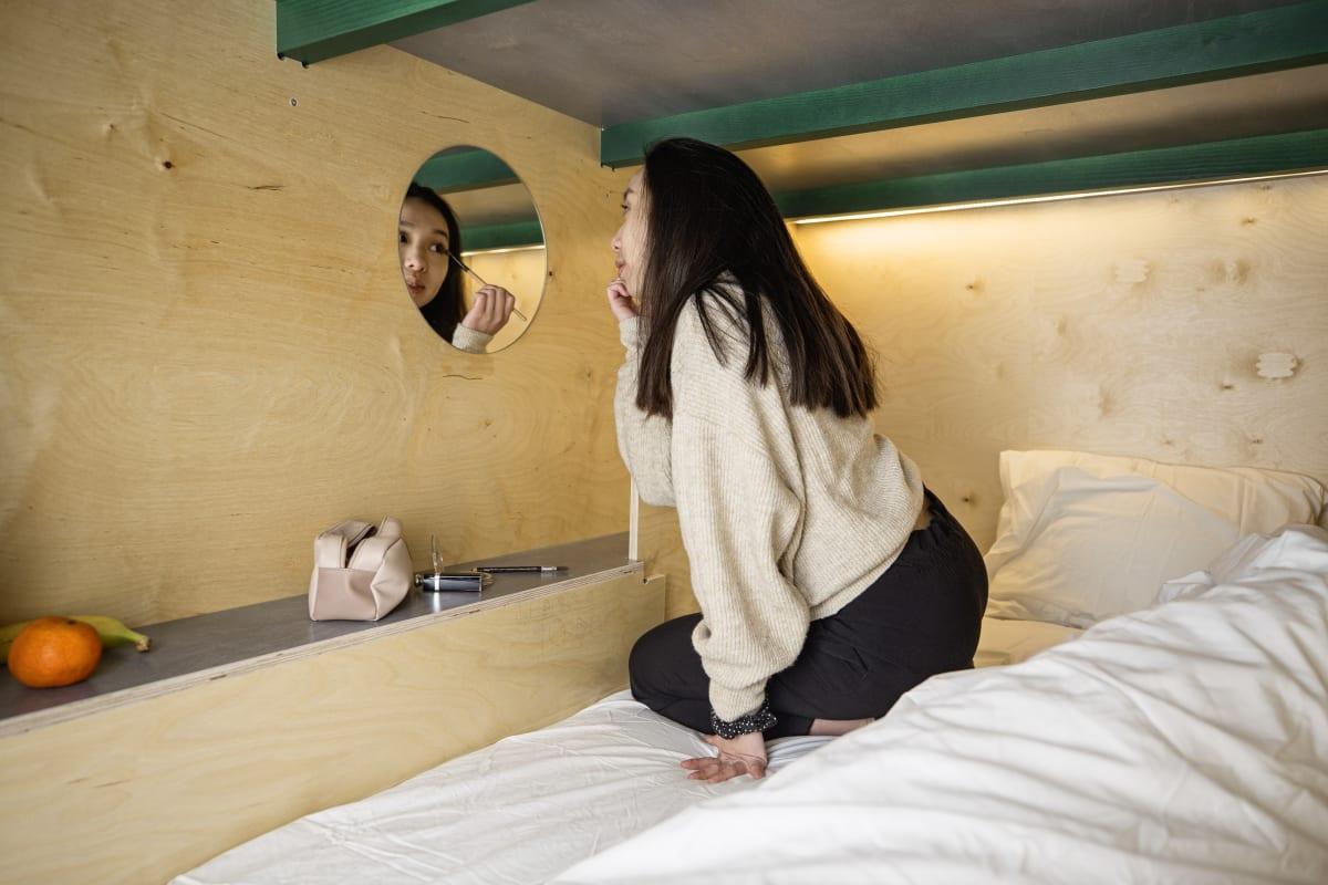 Green Marmot Capsule Hostel, Zurich, Switzerland