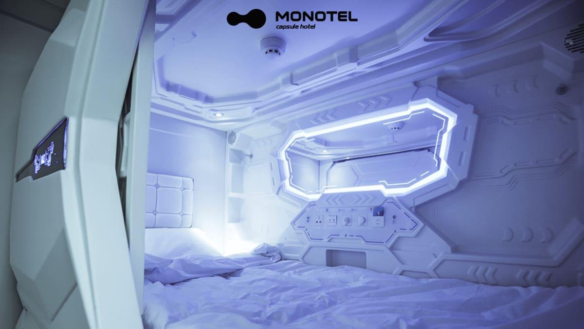 Monotel Maidan Capsule Hotel in Kiev, Ukraine, Ukraine hostel
