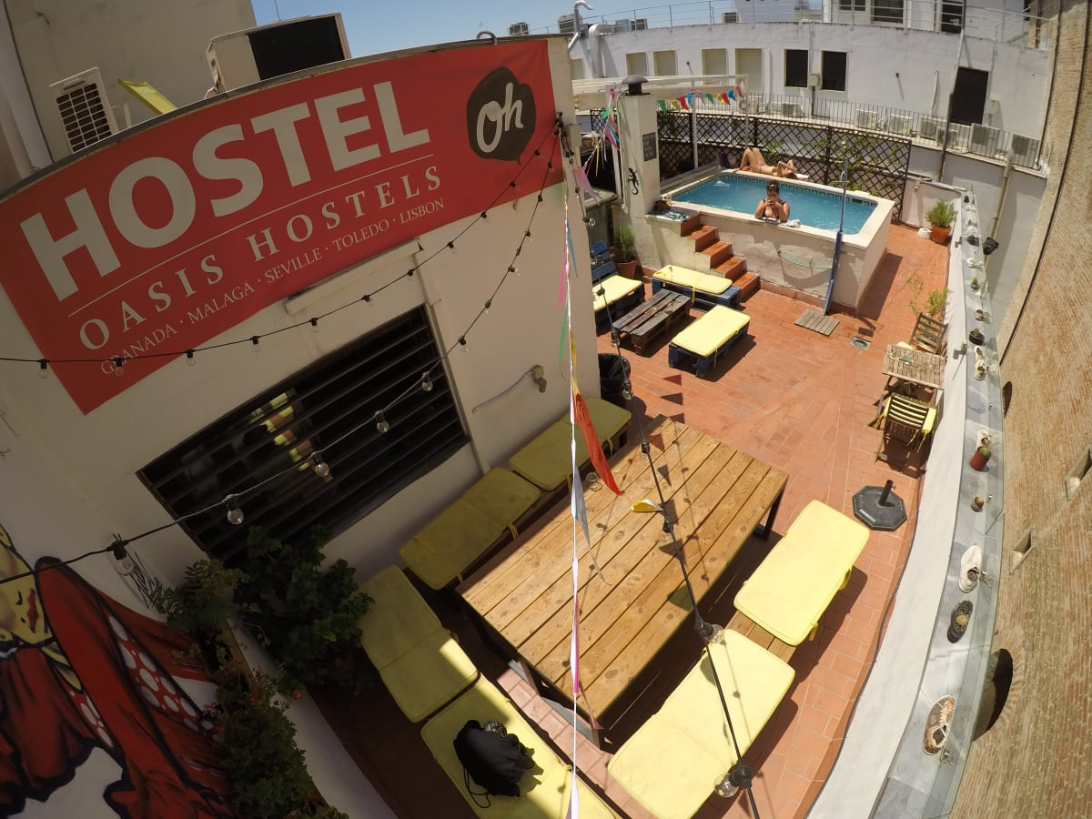 Oasis Backpackers' Hostel Sevilla, Seville, Spain hostel